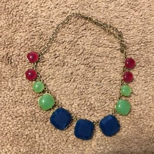 Multicolored chunky necklace